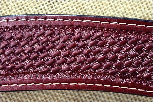 Basket Weaving Houston : Hilason western hand tool basket weave leather horse