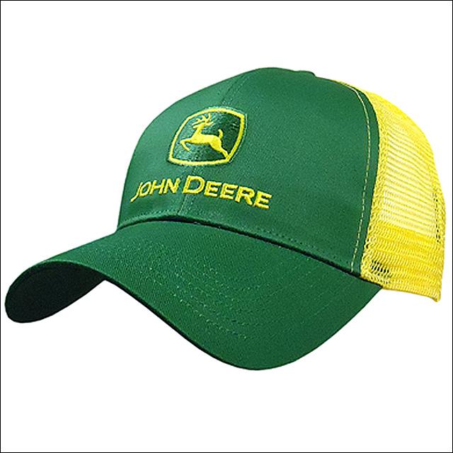 John Deere Black Cap : John deere mens logo adjustable black baseball cap w