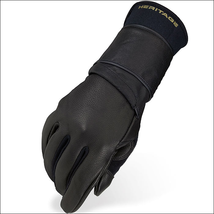 10 SIZE HERITAGE PRO 8.0 BULL RIDING GLOVES HORSE EQUESTRIAN (LEFT HAND)